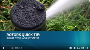 Adjusting Hunter Rotator Sprinkler Heads